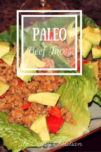 Veggie & Beef Paleo Tacos {Recipe}