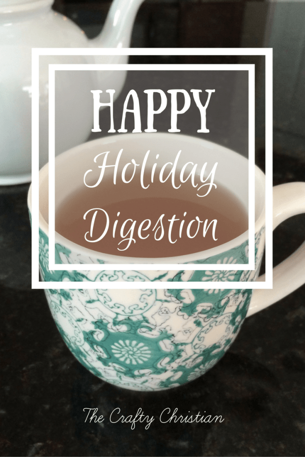 Does the holiday season wreak havoc on your digestive system?  Here's a few tips to give you happy holiday digestion so you make it through this season happy and healthy!