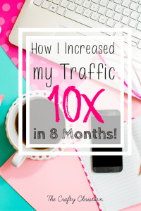 How I Increased My Blog Traffic by 10x in 8 Months!