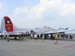 B-17 Flying Fortress - August 2009