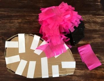 DIY Flamingo Piñata 8