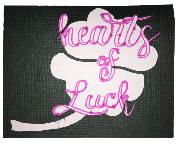 Hearts of Luck St. Patrick's Day Card