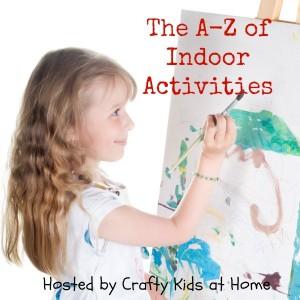 A-Z of Indoor Activities for kids