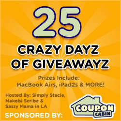 CouponCabin's 25 Crazy Dayz of Giveawayz | Win $30 Hobby Lobby Gift Card (US) #CouponCabinHop