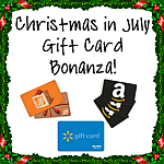 It's here! Christmas in July – July 16th-27th Win $50 in Gift Cards! #ChristmasInJulyHop