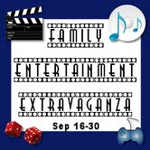 Family Entertainment Extravaganza! {ends 9/30}
