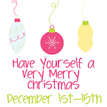 Have Yourself a Merry Little Christmas Giveaway Event {ends 12/15}