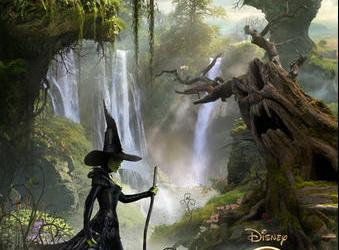 Oz The Great And Powerful in theaters March 8