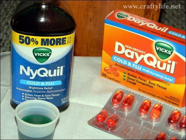 dayquil nyquil liquid and gel caps
