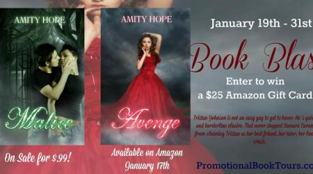 Avenge by Amity Hope #bookBlast #giveaway
