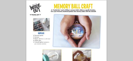 IO - memory ball craft