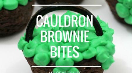 Cauldron Brownie Bites Recipe