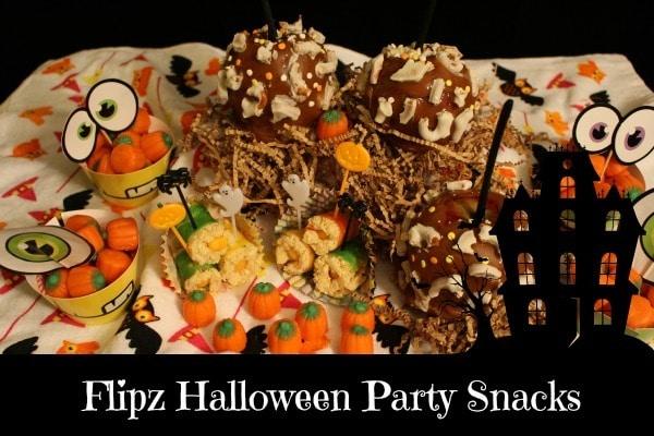 flipz halloween party snacks