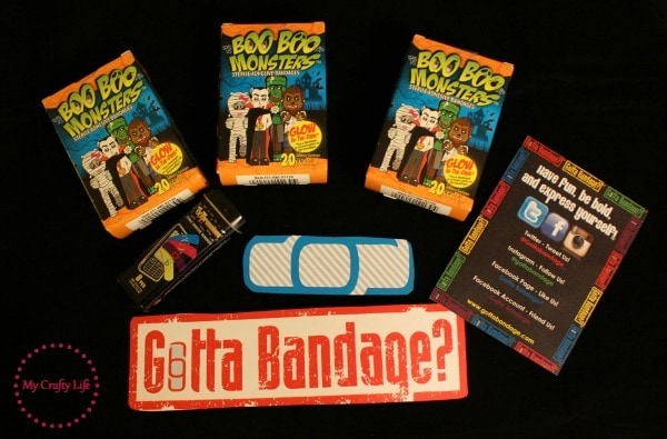 gotta bandage - boo boo monsters prize pack