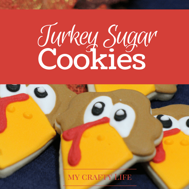 Looking for some super cute cookies for your Thanksgiving dinner or kids school party? These adorable turkey sugar cookies will be the star of any event.