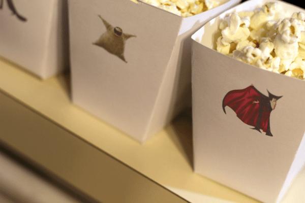Hotel Transylvania 2 - popcorn