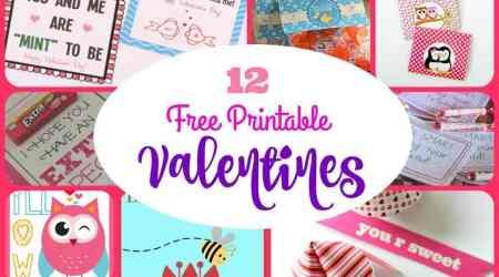 12 Adorable Free Printable Valentines