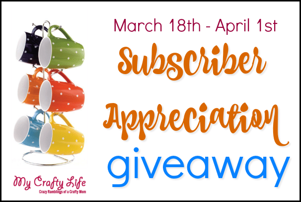 Subscriber Coffee Cup Giveaway