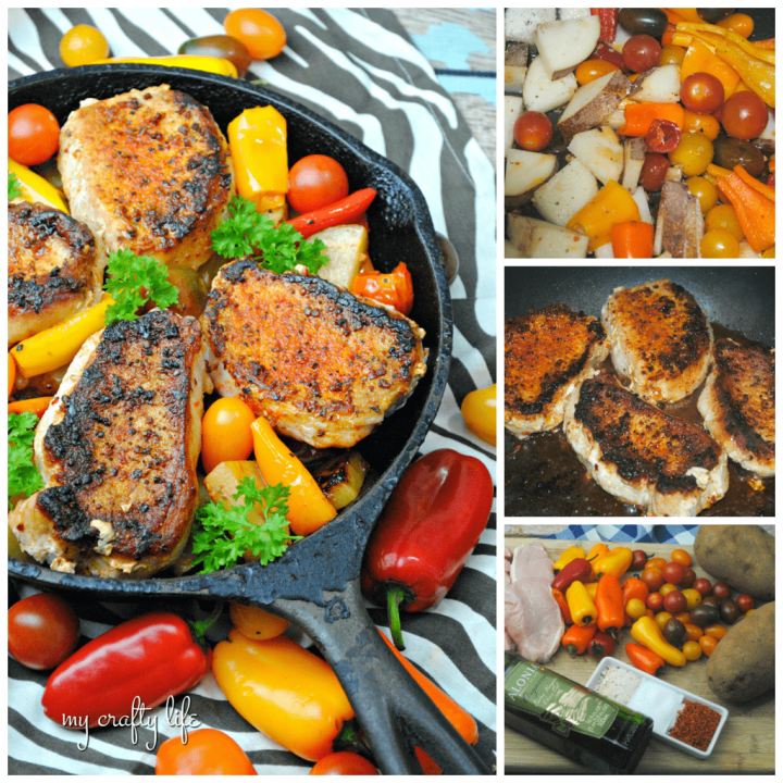 Chipotle Cast Iron Pork Chops