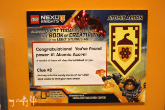 Liv had a blast visiting LegoLand and seeing the 4D LEGO® NEXO KNIGHTS™ Movie Experience