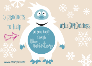 5 Products to help get your family through the winter #TGGForFamily