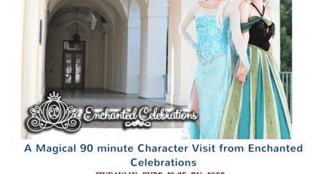 Enchanted Celebrations Giveaway – ends 12/15/2016