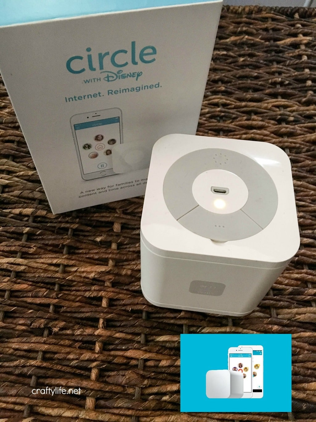 Keep family time device free!  Ever wish you could manage your kids' devices wherever they went? Circle by Disney is the solution you were looking for all along. (ad)