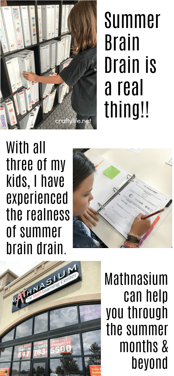 With all three of my kids, I have experienced the realness of summer brain drain. Mathnasium can help you through the summer and beyond.