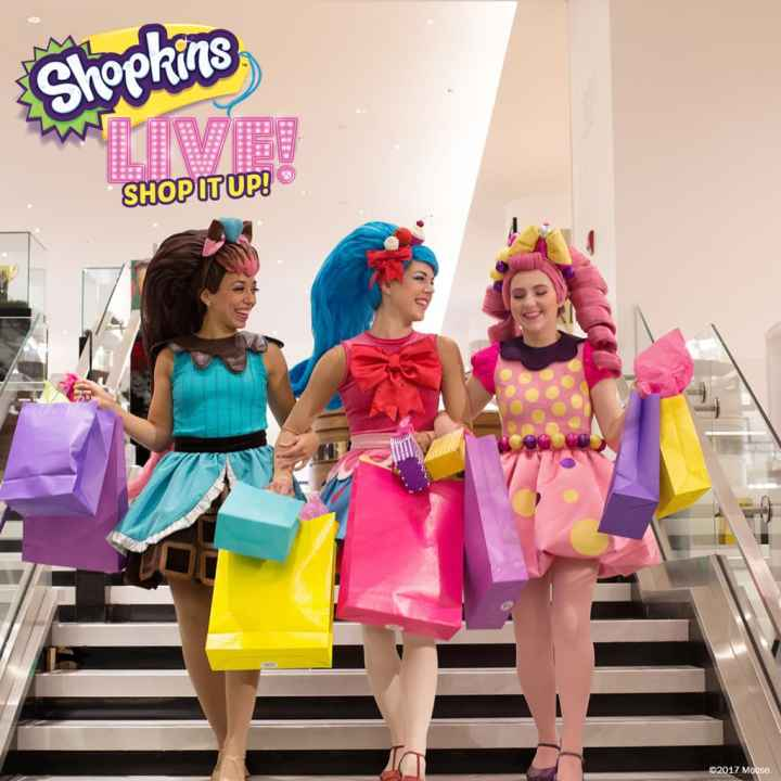 Shopkins Live! is finally here! The #1 kids toy in North America is live and on stage in Shopkins Live! Shop It Up!