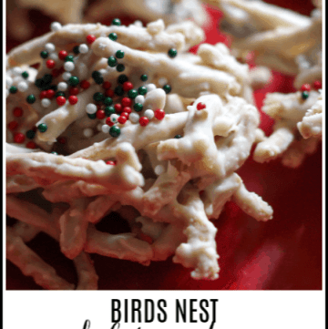 MCL birds nest cookies