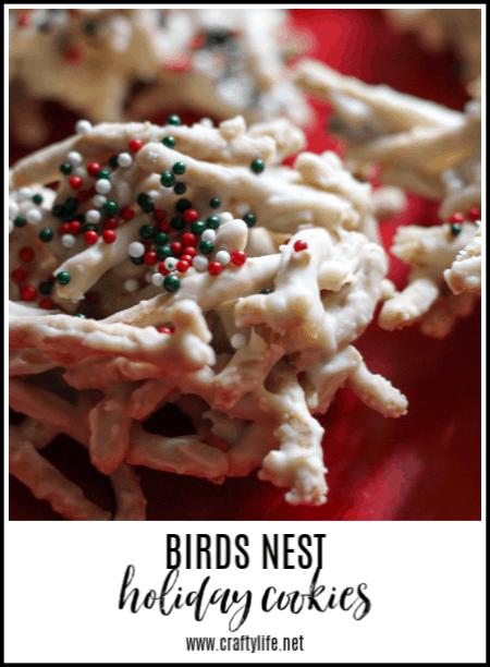 MCL birds nest cookies
