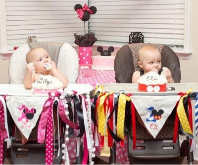 Twins First Birthday