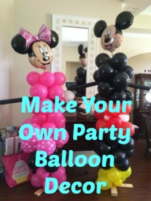 make your own party balloon decor