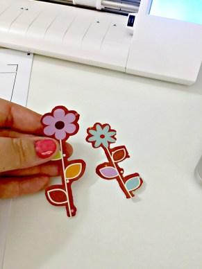 cutout flowers