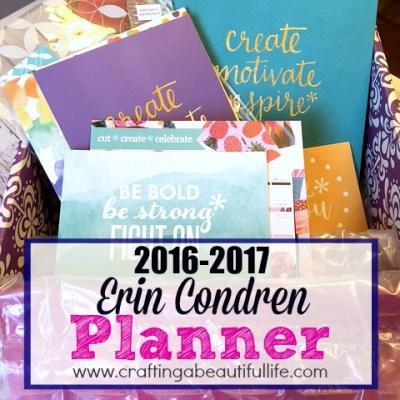2016-2017 Erin Condren Planner Unboxing!!
