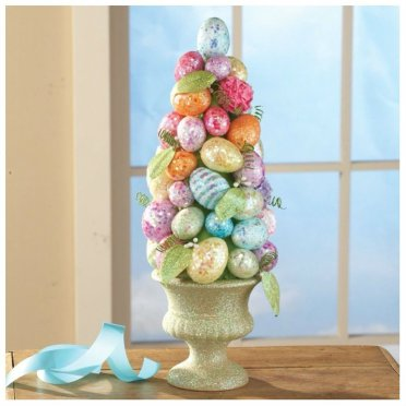 Easter Egg DIY Topiary Tree