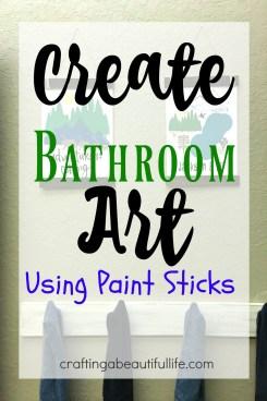 Bathroom Art DIY
