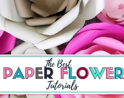 Best Paper Flower Tutorials