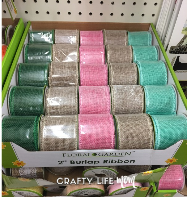 Floral Wreath making supplies from the Dollar Tree. Stock up now for all your Fall wreath making parties.