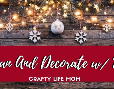 Clean and Decorate with Me this year as I show you how I prep for the Christmas season. ALso find a FREE Holiay Planning printable to use and keep yourself organized for Christmas