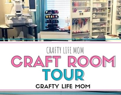 Craft Room Tour And The Original Scrapbox Workbox