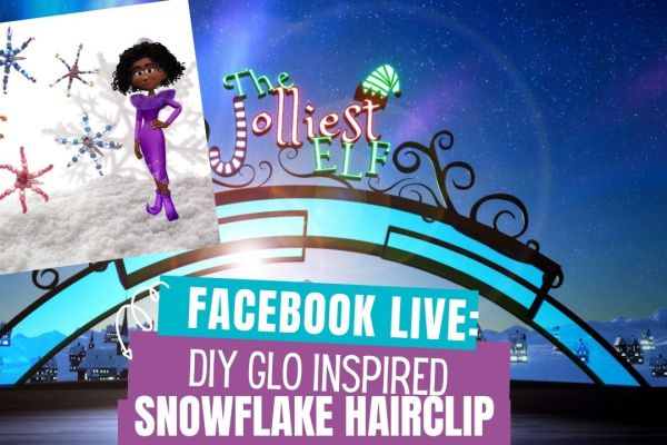 Learn how to create this easy DIY Beaded Snowflake Hairclip inspired by the new animation short file The Jolliest Elf. This tutorial shows you how to create this beautiful hair clip to wear this holiday season.