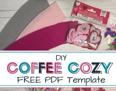 DIY Coffee Cozy Sleeve