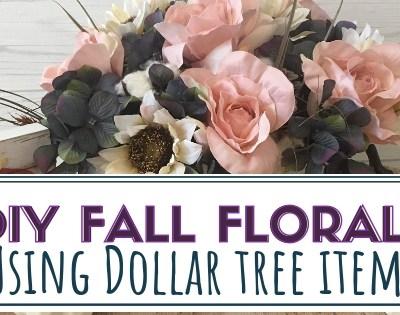 DIY Fall Florals
