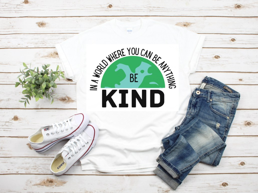 Create this cute Earth Day shirt using this Earth Day SVG. Plus find over 20 other Free Earth Day SVGs to use with your circut and silhouette.