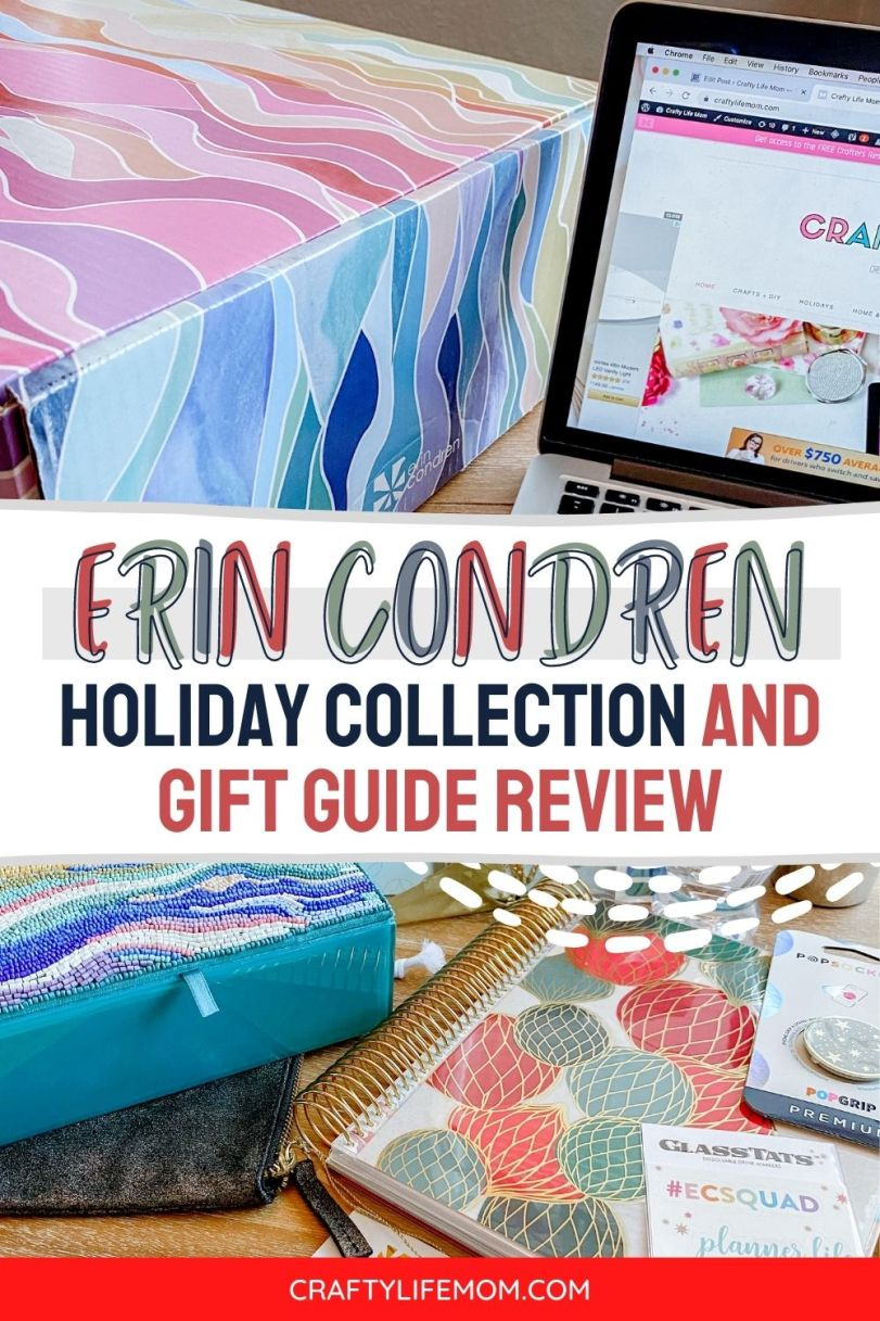 Check out the new Erin Condren Holliday Collection for 2020 along with my Review of some of the amazing items in this year's collection.