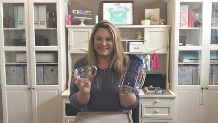 Learn how to etch glass objects using your Cricut or Silhouette craft cutting machine and adhesive vinyl along with glass etching cream to create designs in glass. Download the glass etch designs in SVG format from this tutorial to create your own glass etched objects and gifts.