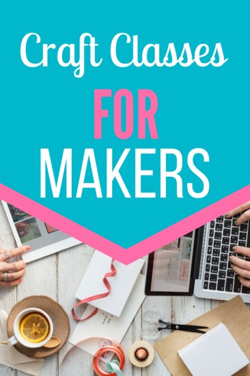 Best Craft Courses for crafters Learn the best ways to make and create with craftsy classes. From baking to sewing and everything in between, you will learn how to create anything.