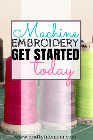 Machine embroidery beginner tips and trips to start learning and creating with embroidery machines