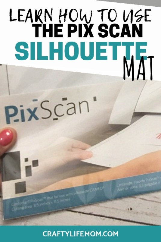 Learn how to use the Silhouette Pix Scan mat using this simple and easy tutorial. Create designs using images from your images and designs and pull into the Silhouette Studio software! #silhouettestudio #pixscanmat #Silhouettecrafts #howtousethesilhouette